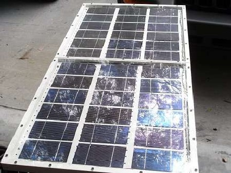 My Solar Panel After I Learned A Few Things